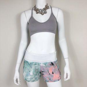 D1-13: Lululemon multicolor sport shorts size 4